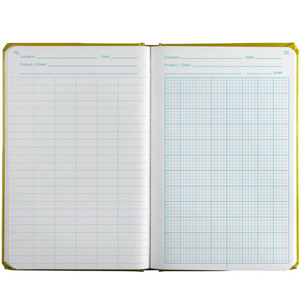 Caderneta Impermeável de Campo Geológica 540F