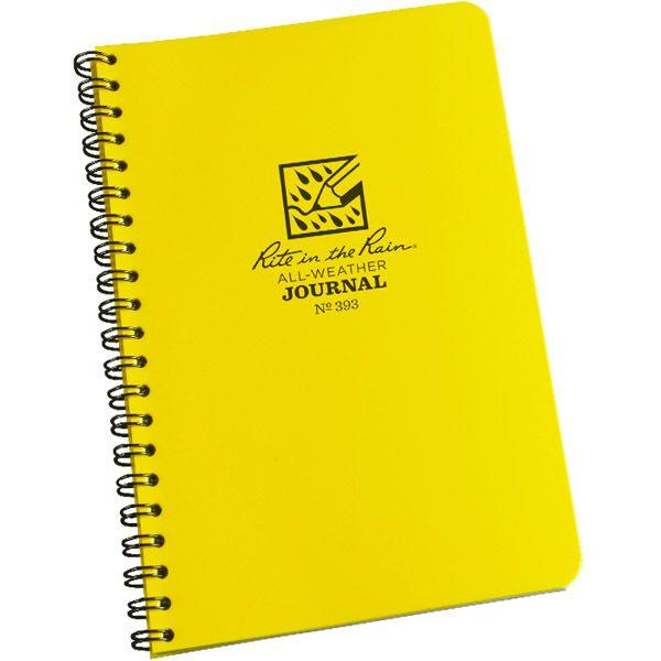 Caderneta Pautada Impermeável 393