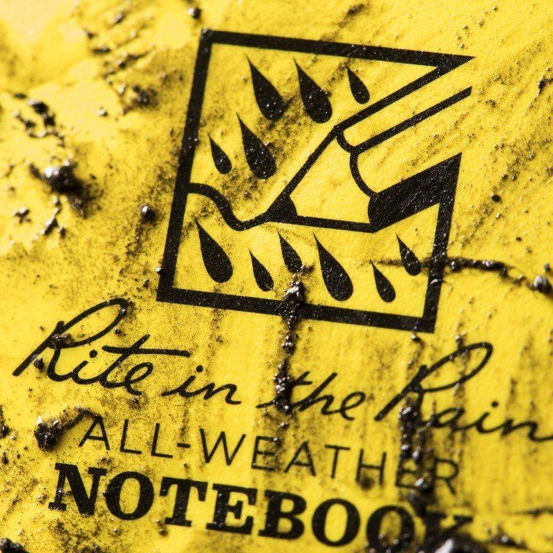 Caderneta Pautada Impermeável RITR | 393