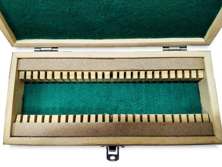 Caixa de Lâminas Delgadas de Madeira - Peça Única