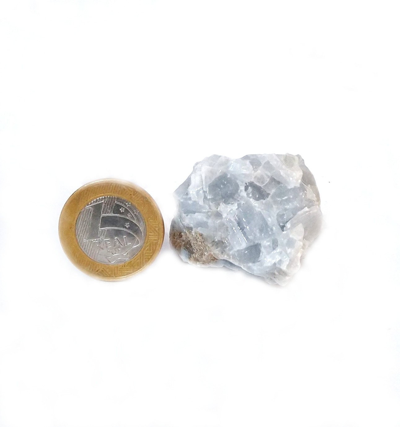 Calcita Azul - Bruto - 2 a 3,5 cm
