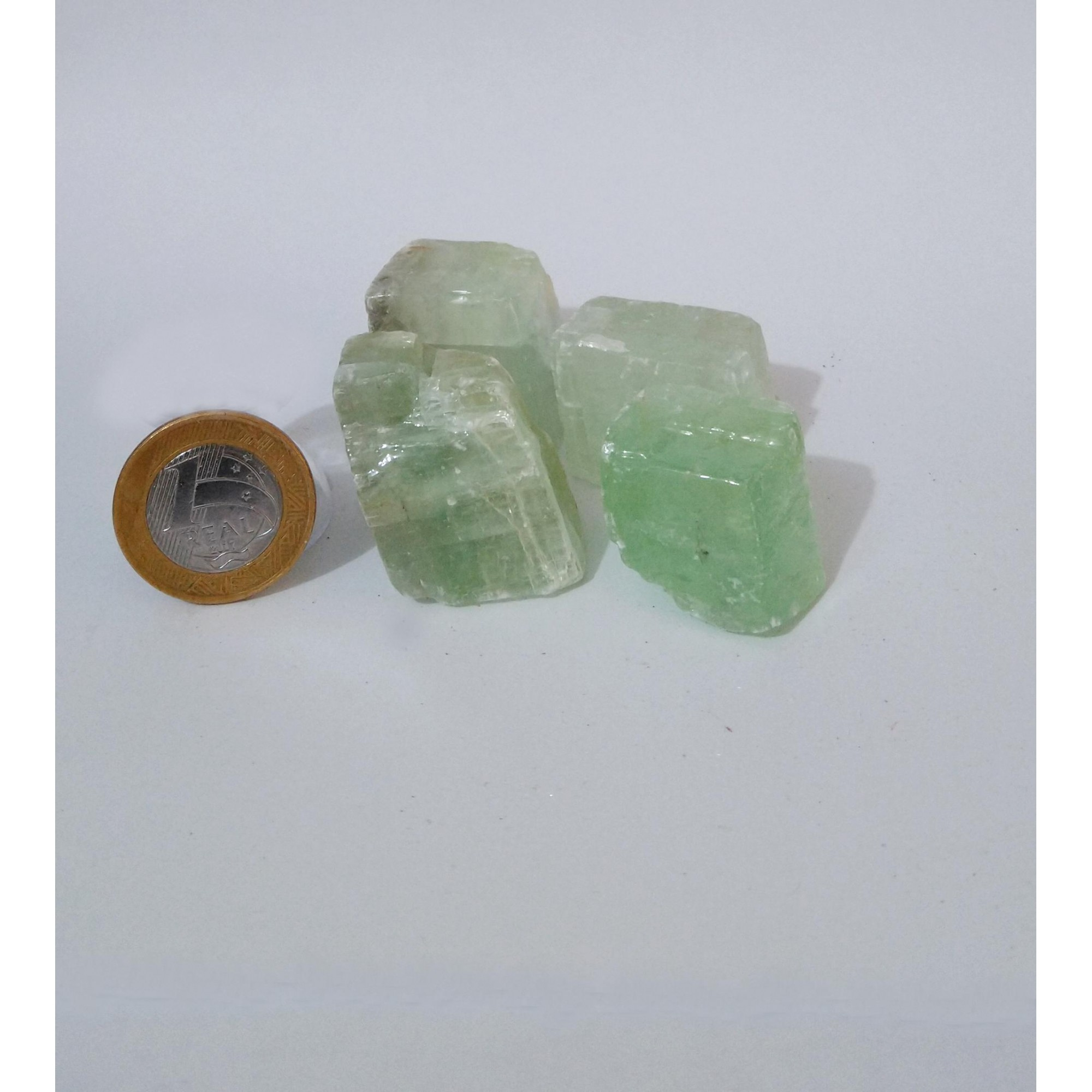 Calcita Verde - Bruto - 2 a 4 cm