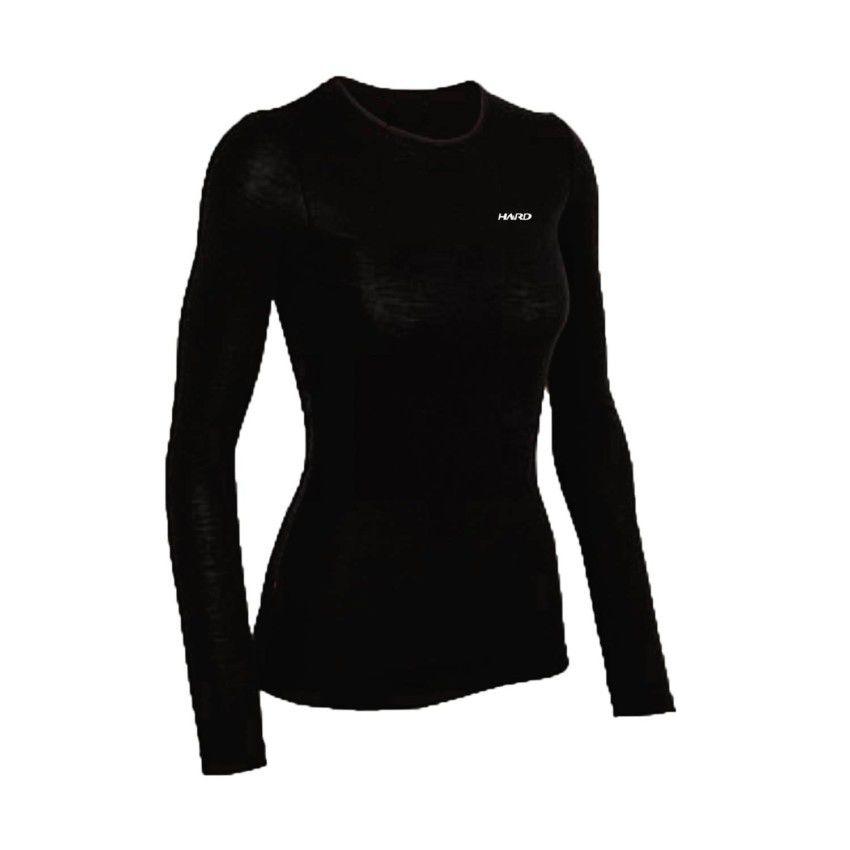 Camiseta Segunda Pele Feminina - Preta