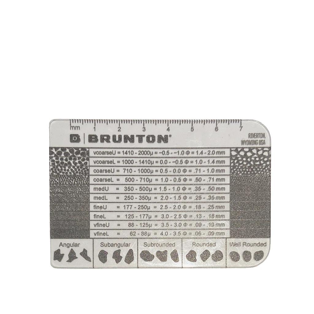 Cartão Medidor de Grãos (Grain Size Card)