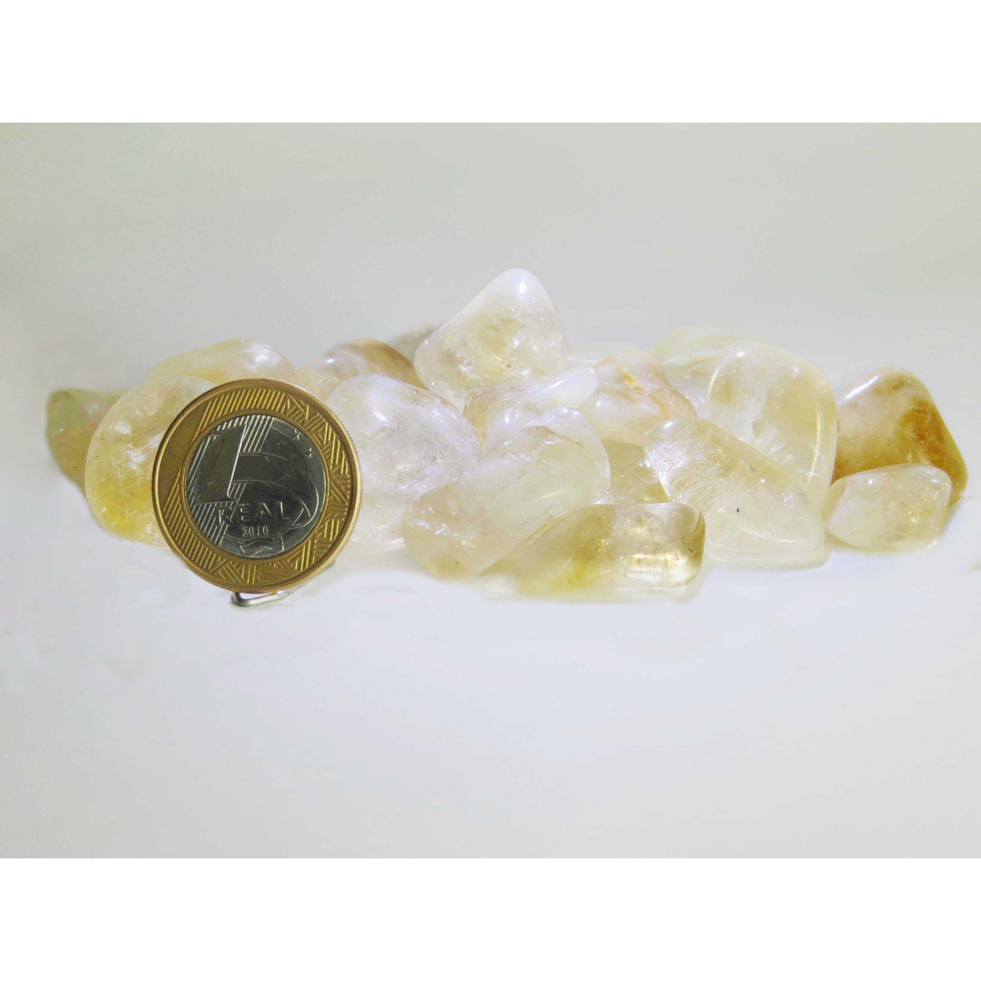 Citrino - Rolado | Pacote com 30 Unidades - 2 a 3 cm