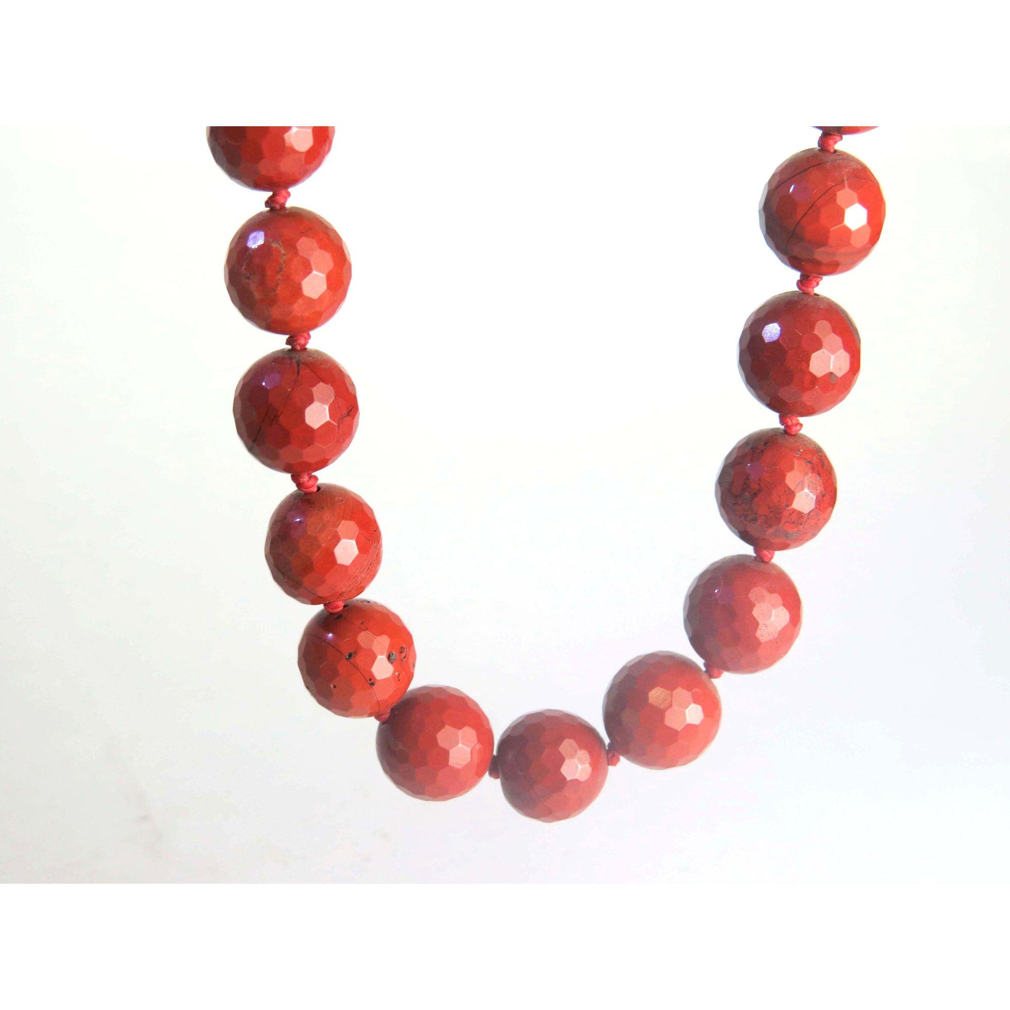 Colar - Jaspe Vermelha | 19F