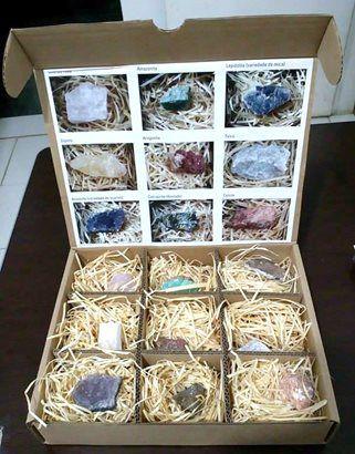 Coleção de Minerais
