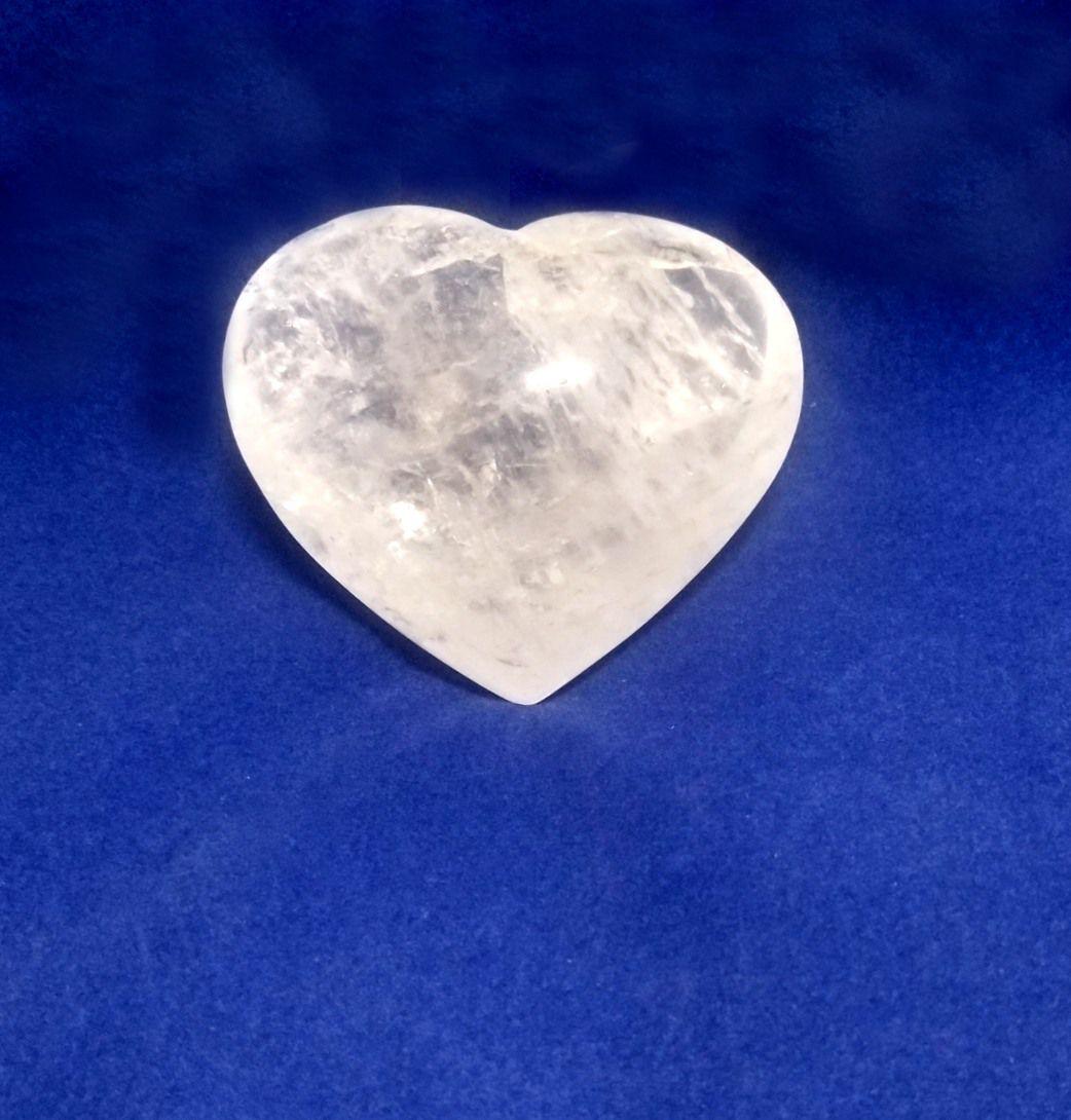 Coração de Quartzo - 6 a 7 cm