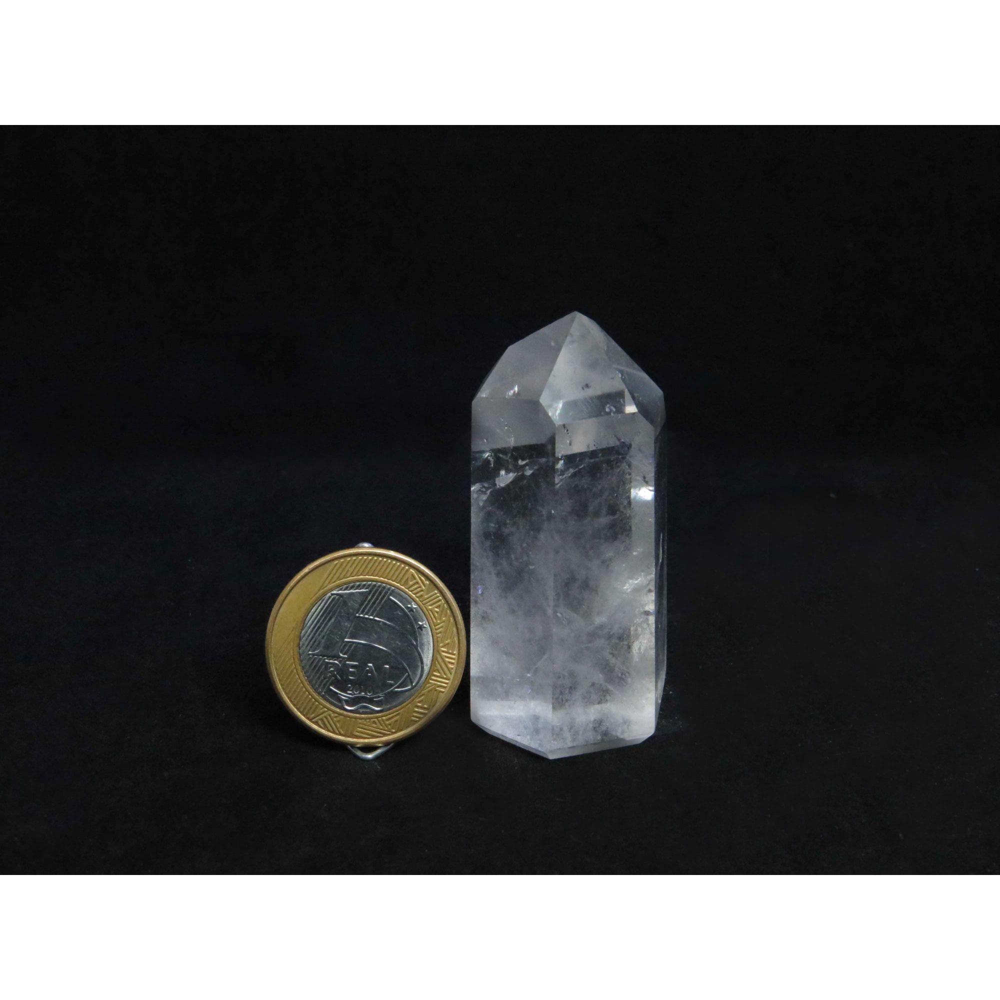 Cristal Ponta Polida | Q.02 - 4 a 5 cm
