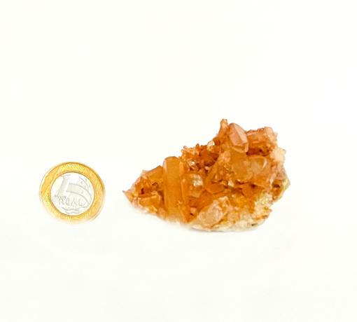 Drusa de Quartzo Vermelho | 6 cm | 0,060 Kg