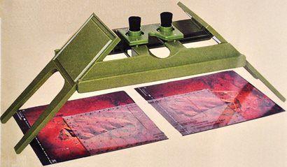 Estereoscópio Geoscope Pro Semi Novo com Maleta Preta