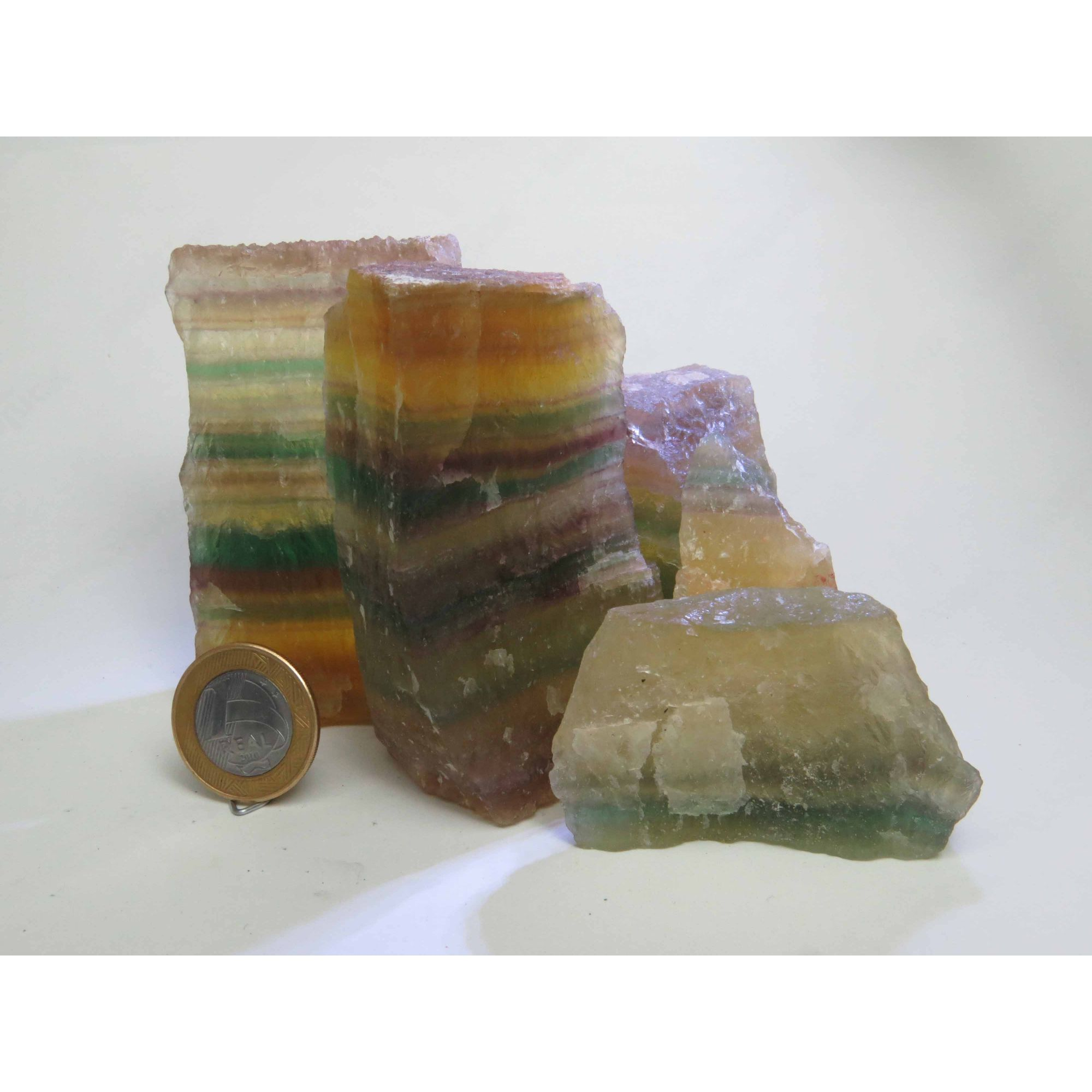 Fluorita Arco-Íris - Bruto