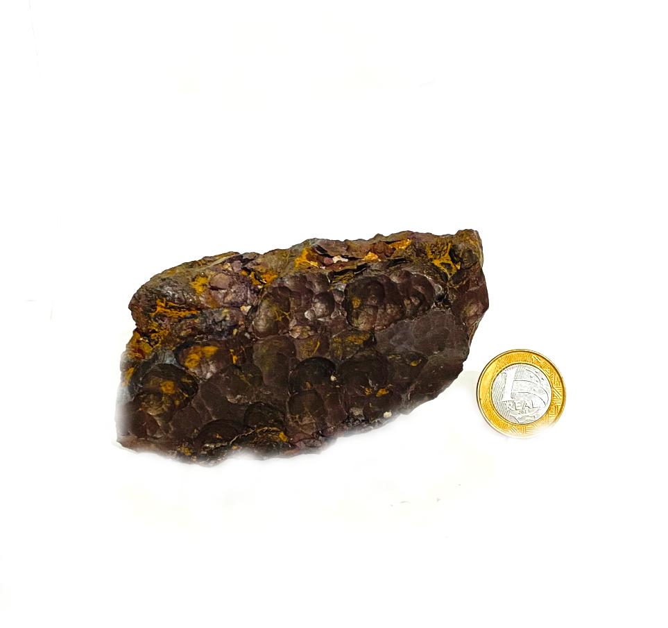 Hematita Botrioidal  Bruto | 10 cm | 0,625 Kg