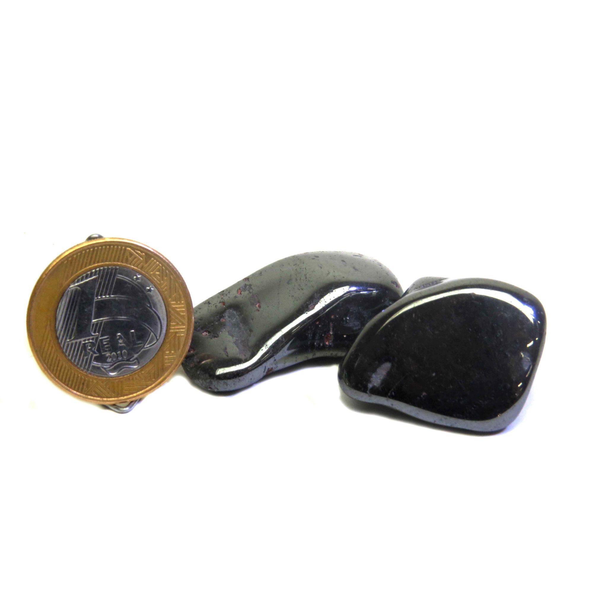 Hematita - Rolado - 2 a 3 cm