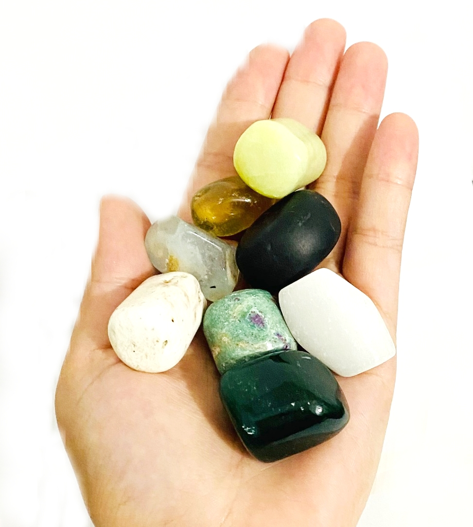 Kit Pedras Roladas