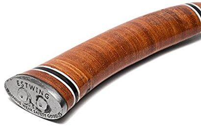 Machado esportivo forjado com cabo de couro | E14A