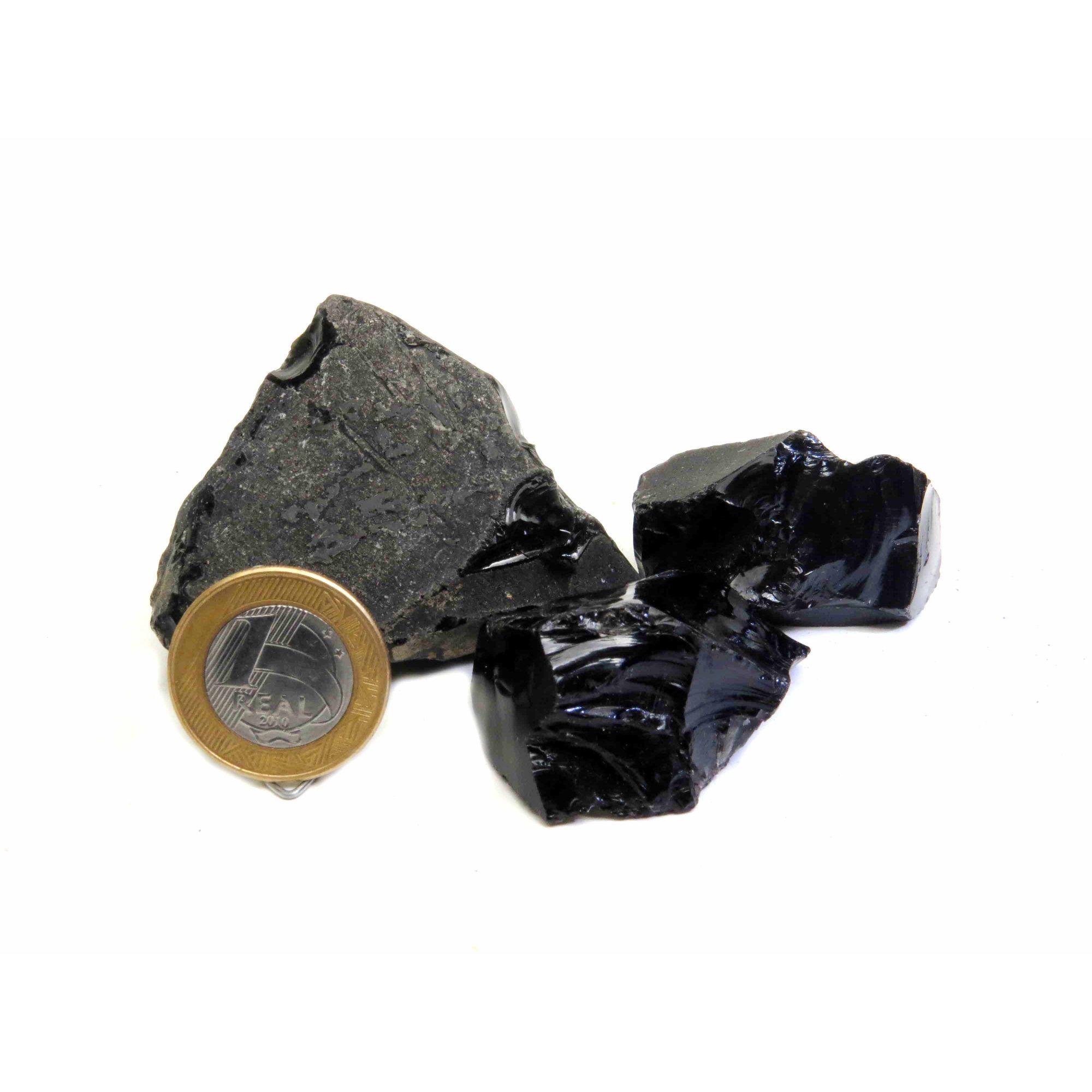 Obsidiana - 4 a 5 cm
