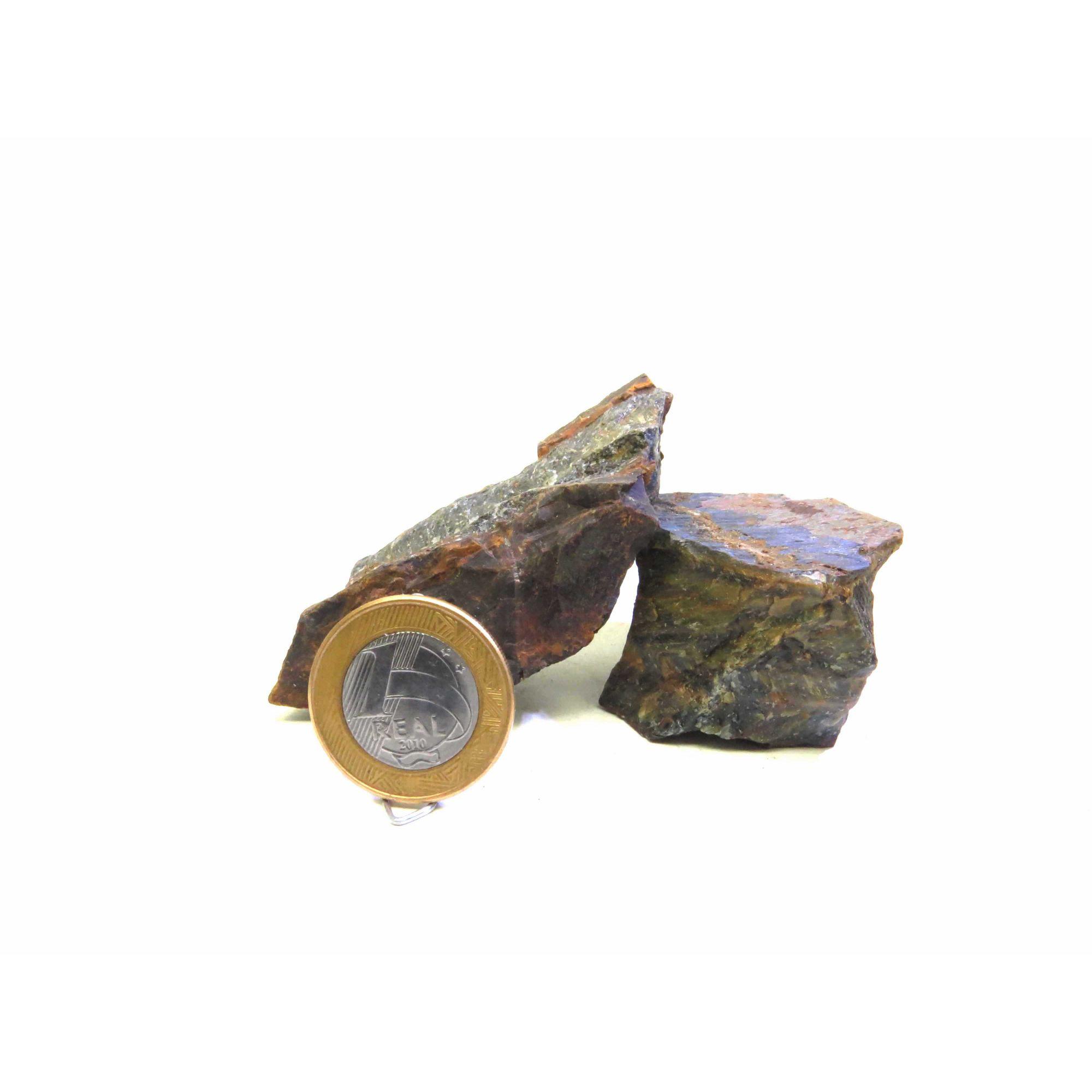 Olho de Falcão - Bruto - 5 a 6 cm