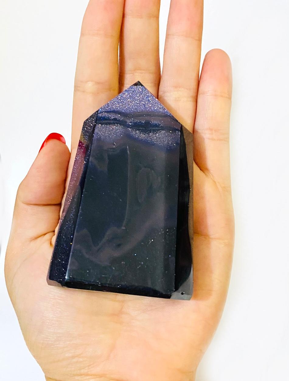Pedra Estrela Sintética - Ponta Polida - 7 a 8 cm