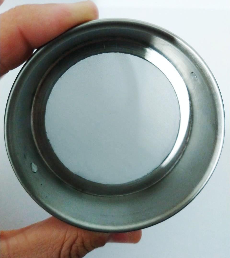 """Peneira Granulométrica com Aro e Malha em Inox - Abertura 0,074 mm - Diâmetro 3"""" - Altura 2"""" - PRONTA ENTREGA"""