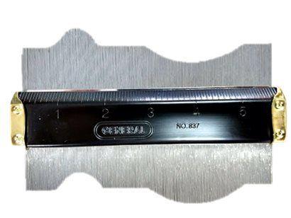 Pente de Barton 15 cm - Perfilômetro de Rugosidade