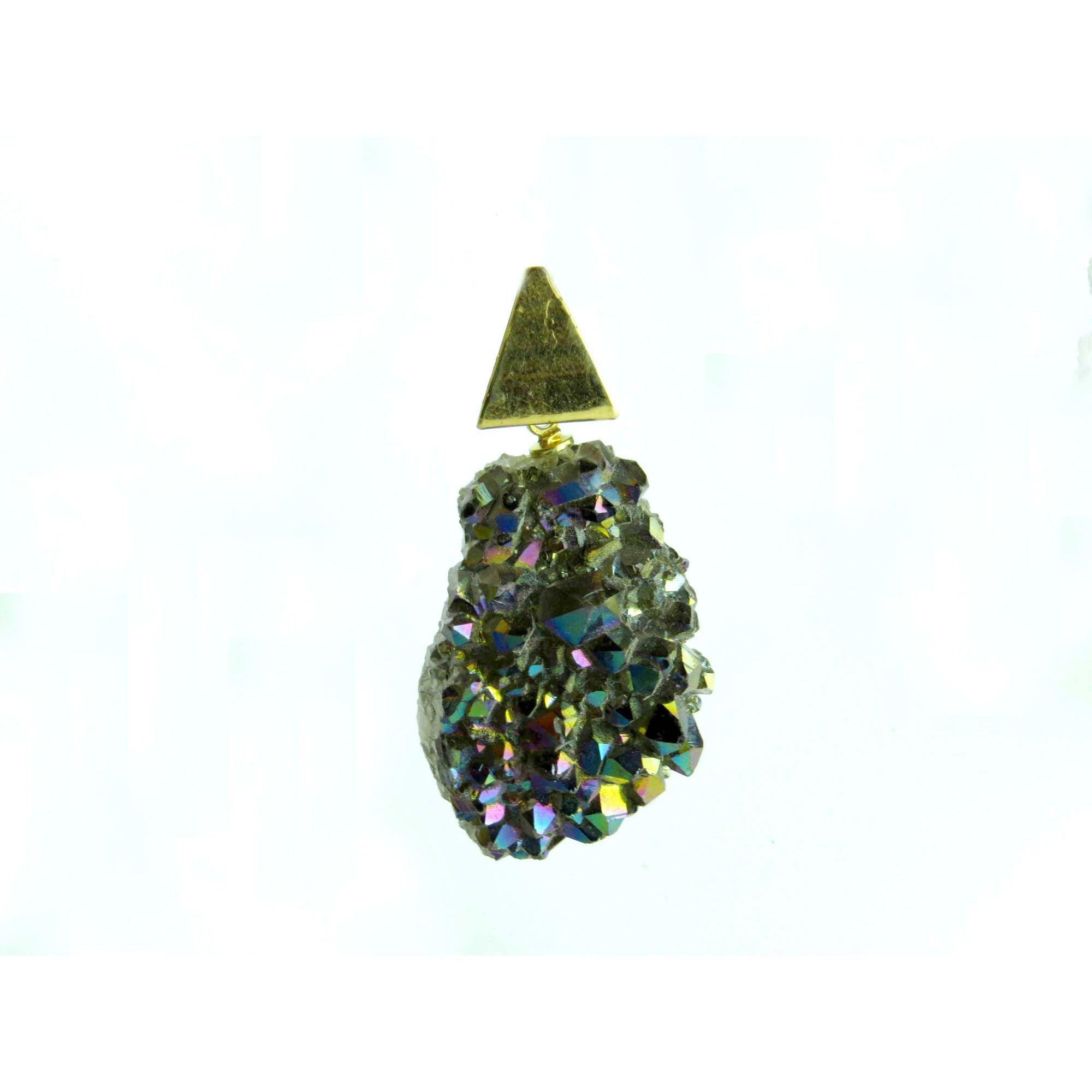 Pingente - Quartzo Aura | 14F