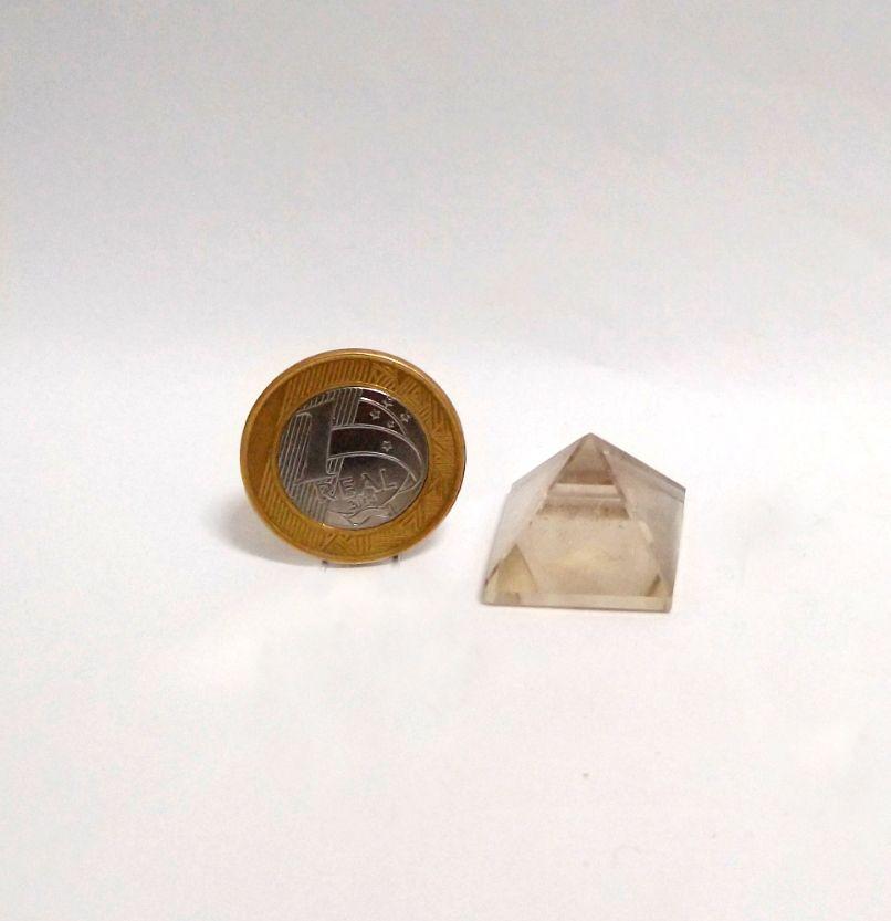 Pirâmide - Cristal - 2 a 3 cm