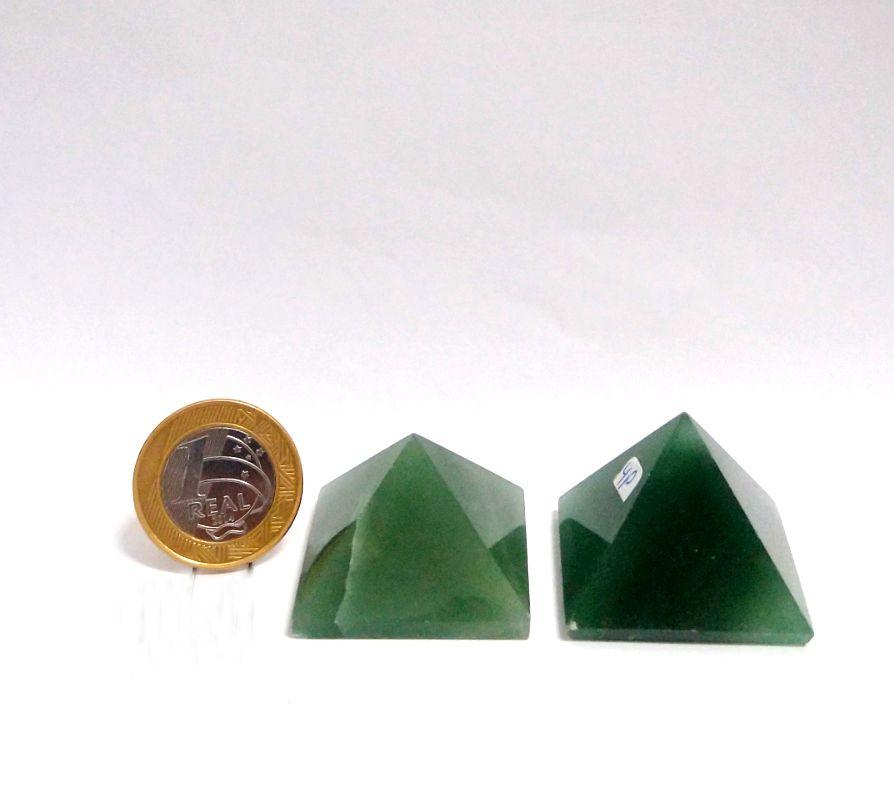 Pirâmide - Quartzo Verde | 4P - 3 a 4 cm