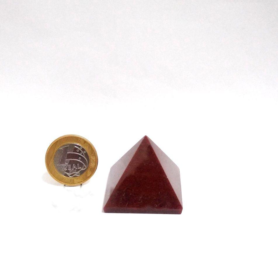 Pirâmide - Quartzo Vermelho   6P - 3 a 4 cm