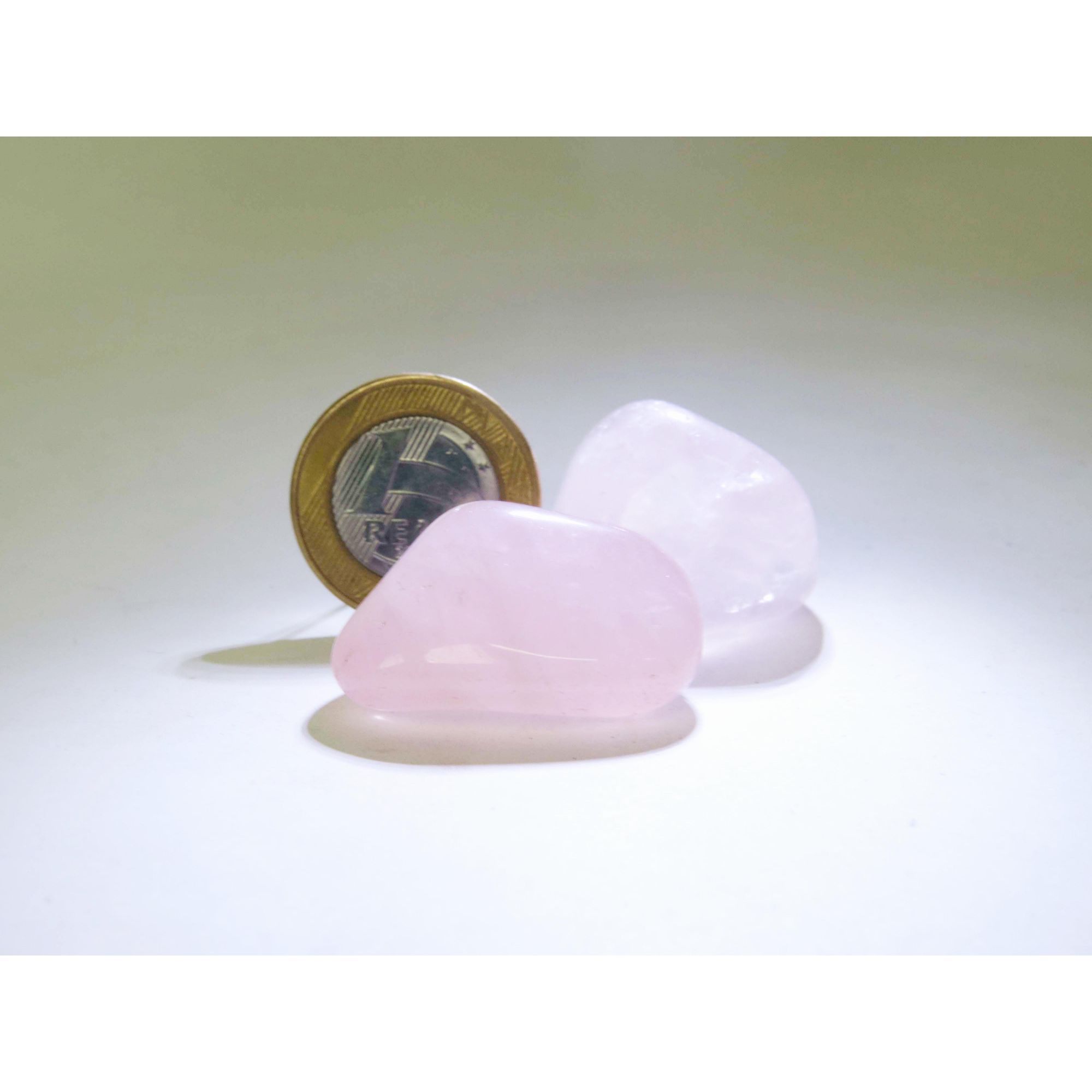Quartzo Rosa - Rolado - 2 a 3 cm