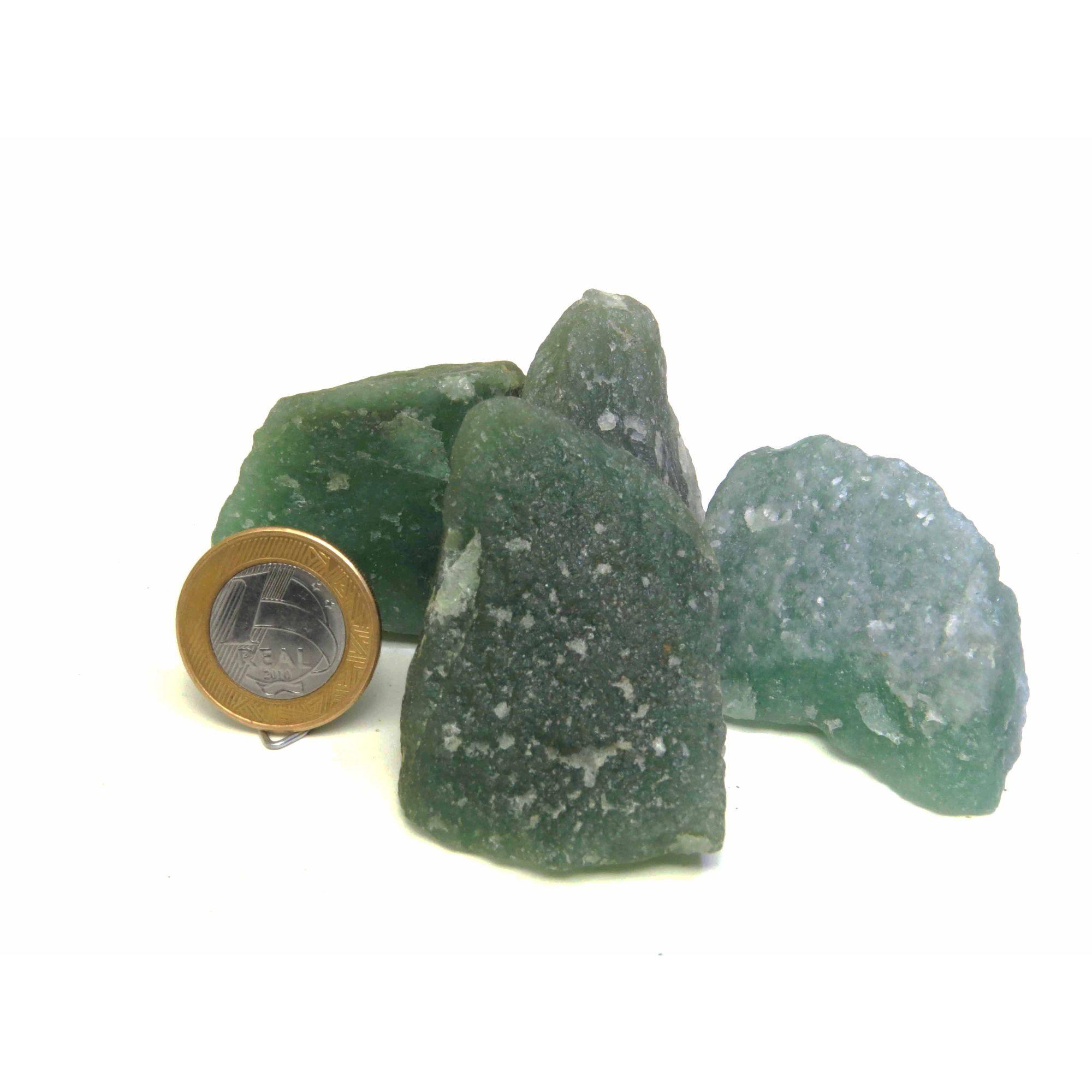 Quartzo Verde - Bruto - 4 a 5 cm