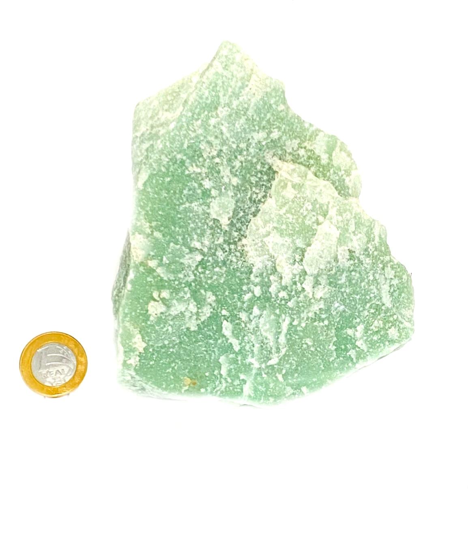 Quartzo Verde Maça | 14 cm | 1,159 Kg