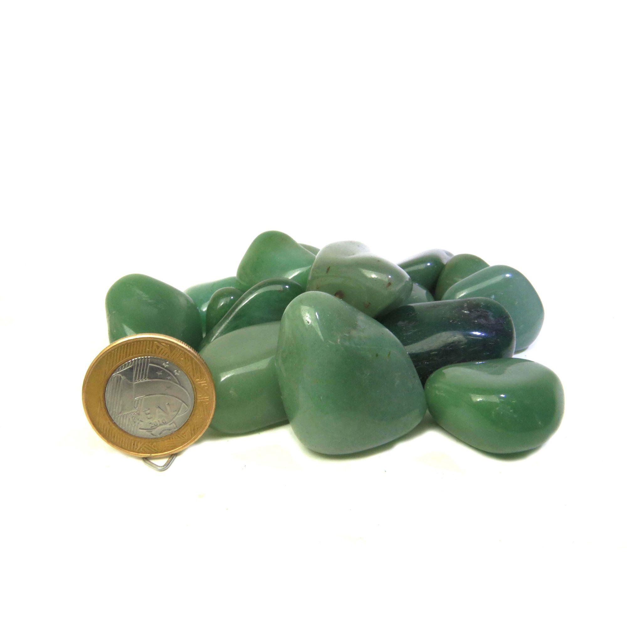 Quartzo Verde - Rolado | Q.A