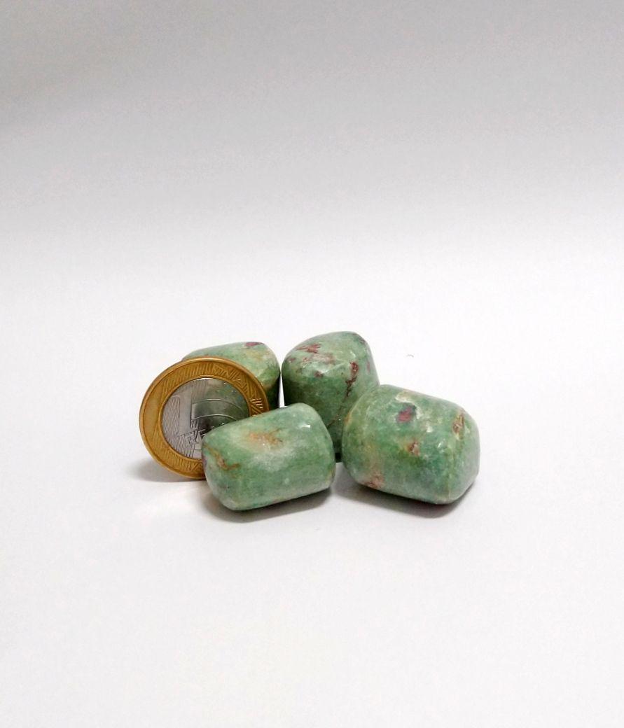 Rubi Fuchsita | Rolado - 1 a 2 cm