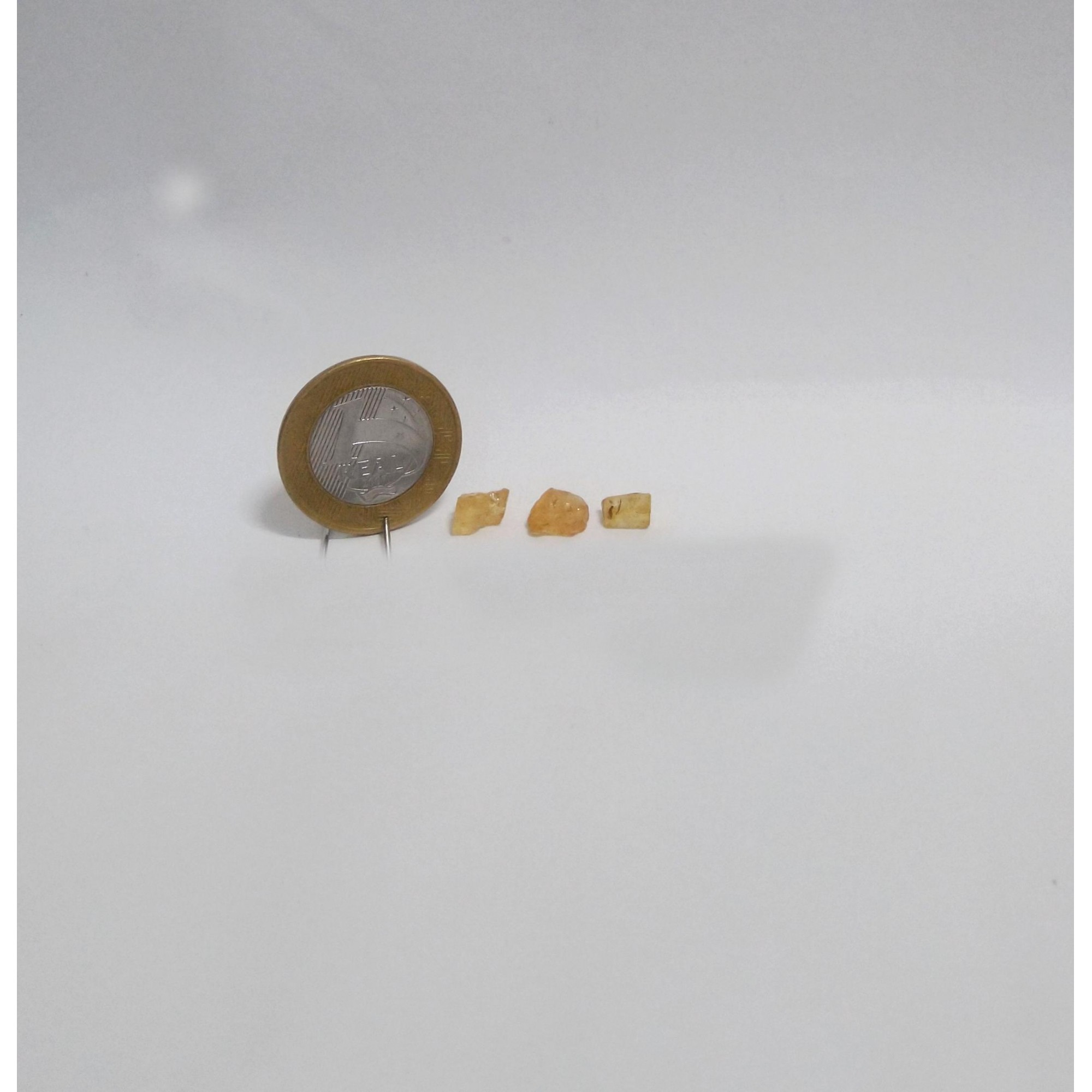 Topázio Imperial - Amarelo Escuro - 0,5 a 0,8 cm