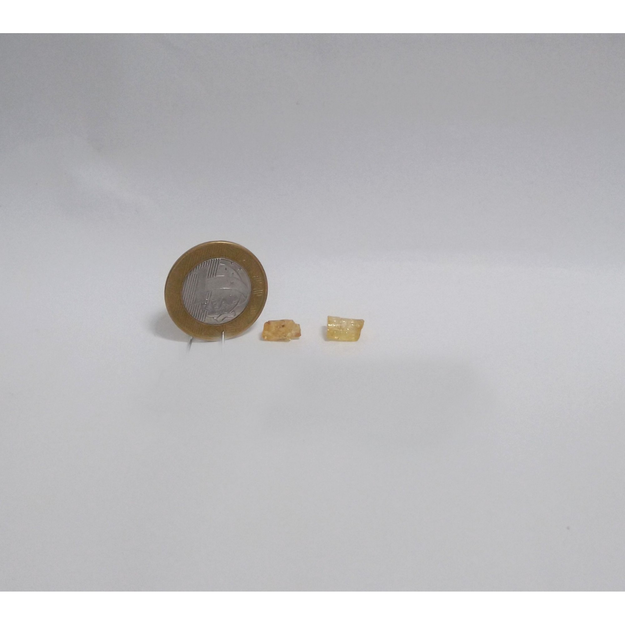 Topázio Imperial - Amarelo Escuro - 0,5 a 1 cm