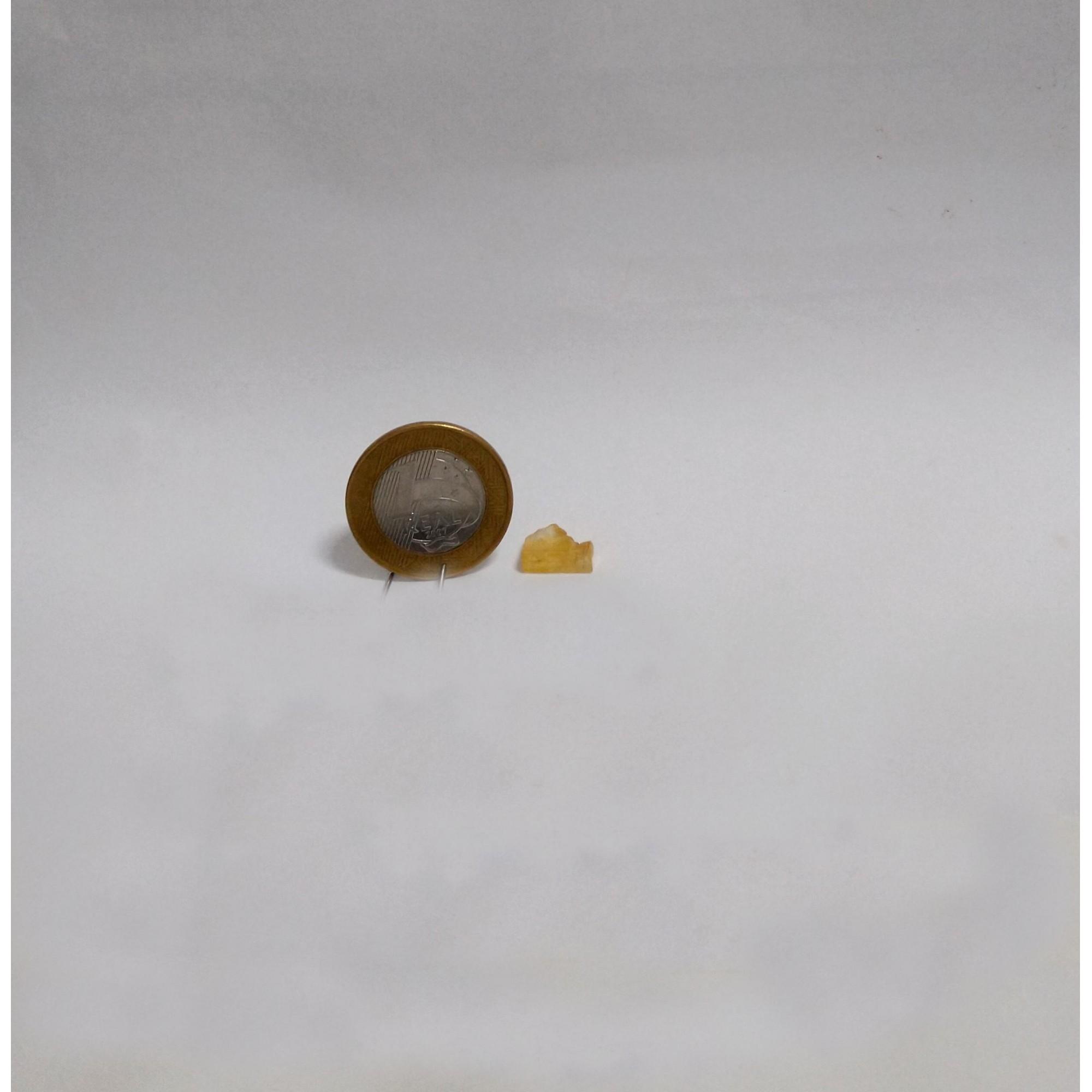 Topázio Imperial - Amarelo Escuro e Caramelo - 1 cm