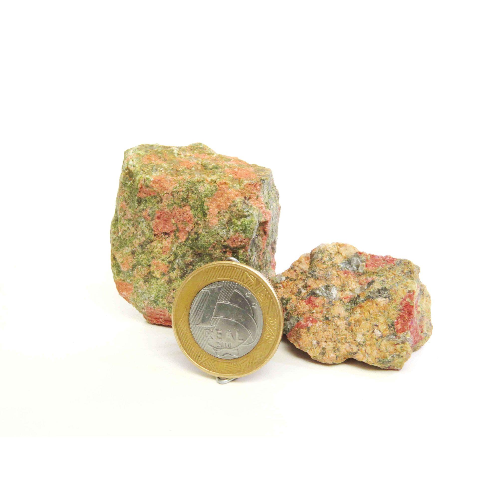 Unakita - Bruto | Pacote com 4 Unidades - 2 a 3 cm