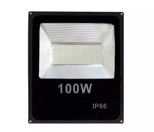 Refletor Led Modular Flood Light 100w Ip66 Piscinas Jardins
