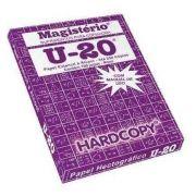 50 Folhas Papel Hectográfico Roxo U20 Decalque Estencil Tattoo Tatuagem