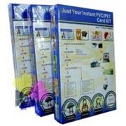 50 Placas de PVC + 50 Folhas Imprimíveis Jato de Tinta A4