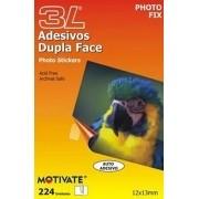 Adesivo Blister Photo Fix Dupla Face Fotos 224 unidades 12 x 13mm