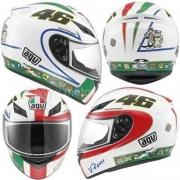 Capacete Agv K3 Icon Valentino Rossi 46 Tamanho 60