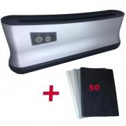 Encadernadora Térmica 110v Até 200 Folhas A4 + 50 Capas Térmicas