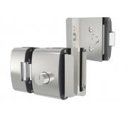 Fechadura Elétrica Para Porta De Vidro Dois Cilindros AGL 12V