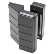 Fechadura Eletroímã AGL Cinza Para Portas AL600 600Kg