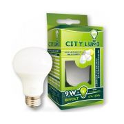 Lampada LED Bulbo Autodimerizável Branco Frio 3 Estagios 9W