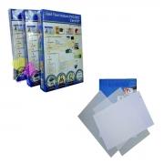 Folha Imprimível A4 Impressão à Laser - Confecção de Placas de PVC Crachá Cardápio