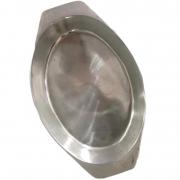 Gamela Fruteira Travessa de Alumínio Maciço Para Bolo, Petiscos  2400ml
