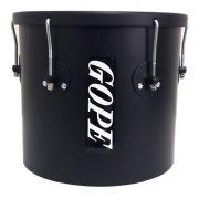 Instrumento Musical Repique de Mão Bateria Tambor 11 Polegadas  Gope Preto